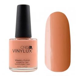 CND Vinylux №181 Salmon Run - Лак для ногтей 15 мл персиковый эмалевый, плотный