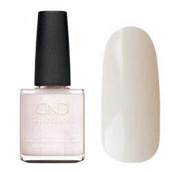 CND Vinylux №297 Satin Slippers - Лак для ногтей 15 мл бежево-розоватого оттенка, полупрозрачный, эмалевый
