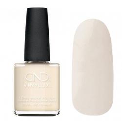 CND Vinylux №320 Veiled - Лак для ногтей 15 мл светлый бежевый, глянец, полупрозрачный.