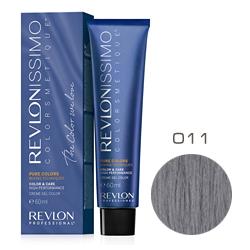 Revlon Professional Revlonissimo Colorsmetique Pure Colors - Крем-гель для перманентного окраш. волос 011 Серый 60 мл