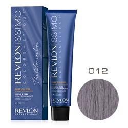 Revlon Professional Revlonissimo Colorsmetique Pure Colors - Крем-гель для перманентного окраш. волос 012 Перламутрово-серый 60 мл