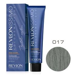 Revlon Professional Revlonissimo Colorsmetique Pure Colors - Крем-гель для перманентного окраш. волос 017 Бронзово-серый 60 мл