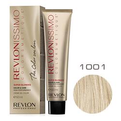 Revlon Professional Revlonissimo Colorsmetique Super Blondes - Крем-гель для перм. окрашивания волос 1001 Пепельный блондин 60 мл