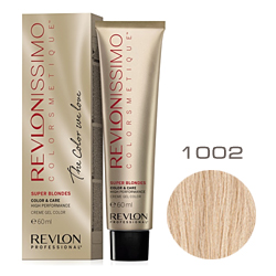 Revlon Professional Revlonissimo Colorsmetique Super Blondes - Крем-гель для перм. окрашивания волос 1002 Платиновый блондин 60 мл