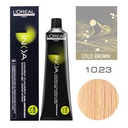 L'Oreal Professionnel Inoa - Краска для волос Иноа 10.23 Очень Яркий Блондин Перламутровый Золотистый 60 мл