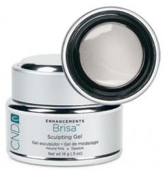 CND Brisa Lite Sculpting Pure White - Гель Скульптурный ультра белый 14 гр.
