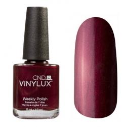 CND Vinylux №130 Masquerade - Лак для ногтей 15 мл насыщенный темно-вишневый, с микроблеском.