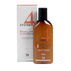 Sim Sensitive System 4 Therapeutic Hydro Care Conditioner H - Терапевтический бальзам «Н» для нормальных, сухих и поврежденных окрашиванием волос 215 мл