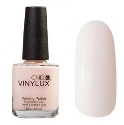 CND Vinylux №142 Romantique - Лак для ногтей 15 мл холодно-розовый, эмаль.