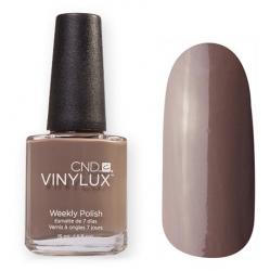 CND Vinylux №144 Rubble - Лак для ногтей 15 мл серо-коричневый, эмаль.