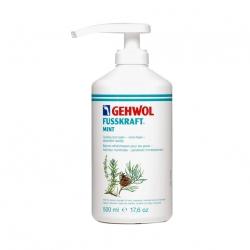 Gehwol Fusskraft Mint - Мятный охлаждающий бальзам 500 мл