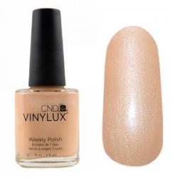 CND Vinylux №180 Dandelion - Лак для ногтей 15 мл персиковый с золотым микроблеском.