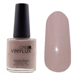 CND Vinylux №185 Field Fox  - Лак для ногтей 15 мл Беж с лиловым оттенком.