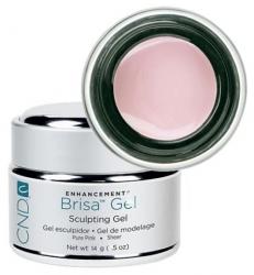 CND Brisa Lite Sculpting Natural Pink - Гель Скульптурный Нейтрально-розовый 14 гр.