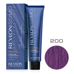 Revlon Professional Revlonissimo Colorsmetique Pure Colors - Крем-гель для перманентного окрашивания волос 200 Фиолетовый 60 мл