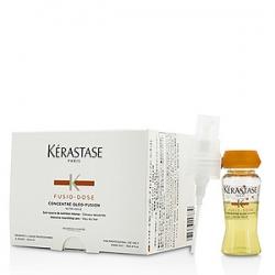 Kerastase Fusio-Dose Concentre Oleo-Fusion - Средство для глубокого питания сухих и чувствительных волос 10х12 мл