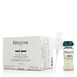 Kerastase Fusio-Dose Concentre Vita-Ciment - Укрепляющий концентрат для ослабленных волос 10х12 мл