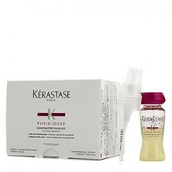 Kerastase Fusio-Dose Concentre Pixelist - Средство для придания блеска окрашенным волосам 10х12 мл