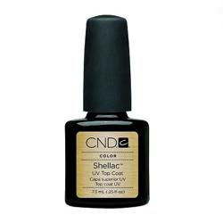 CND Shellac Top Coat - Верхнее покрытие ногтей 15 мл