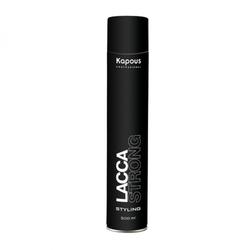 Kapous LACCA STRONG - Лак аэрозольный для волос сильной фиксации 500 мл