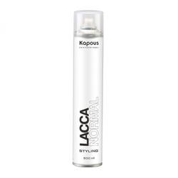 Kapous LACCA NORMAL - Лак аэрозольный для волос нормальной фиксации 500 мл
