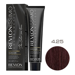 Revlon Professional Revlonissimo Colorsmetique High CoverАge - Крем-краска для волос 4.25 Шоколадно-ореховый 60 мл