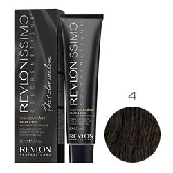 Revlon Professional Revlonissimo Colorsmetique High CoverАge - Крем-краска для волос 4 Коричневый 60 мл