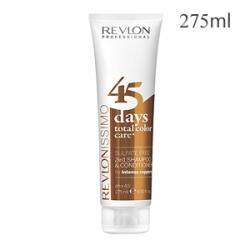 Revlon Professional Revlonissimo Color Care 45 Days Total Color Care Intense Coppers - Шампунь-кондиционер для медных оттенков 275 мл