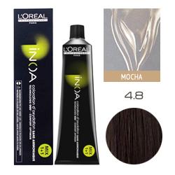 L'Oreal Professionnel Inoa ODS 2 - Краска для волос Иноа 4.8 Шатен мокко 60 мл