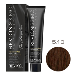 Revlon Professional Revlonissimo Colorsmetique High CoverАge - Крем-краска для волос 5.13 Бежевый светлый коричневый 60 мл
