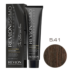 Revlon Professional Revlonissimo Colorsmetique High CoverАge - Крем-краска для волос 5.41 Насыщенный светлый ореховый 60 мл