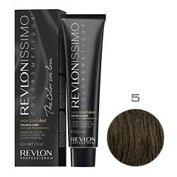 Revlon Professional Revlonissimo Colorsmetique High CoverАge - Крем-краска для волос 5 Коричневый светлый 60 мл