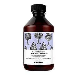 Davines Natural Tech Calming Shampoo - Успокаивающий шампунь для чувствительной кожи головы 250 мл