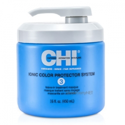 CHI Ionic Color Protector System 3 Leave-In Treatment Masque - Маска Чи «Защита цвета» 450 мл