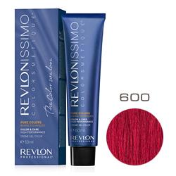 Revlon Professional Revlonissimo Colorsmetique Pure Colors - Крем-гель для перманентного окрашивания волос 600 Красный  60 мл