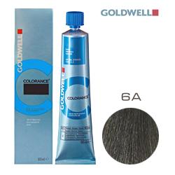 Goldwell Colorance 6A - Тонирующая крем-краска Темно-русый пепельный 60 мл