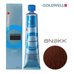 Goldwell Colorance 6N@KK - Тонирующая крем-краска Темный блонд с золотисто-медным сиянием 60 мл
