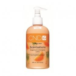 """CND Scentsations Tangerine & Lemongras Lotion лосьон для рук и тела """"Сорго и мандарин"""" 245 мл"""