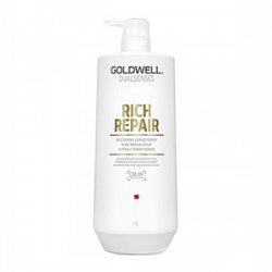 Goldwell Dualsenses Rich Repair Restoring Conditioner - Кондиционер против ломкости волос 1000 мл