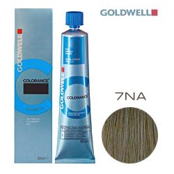 Goldwell Colorance 7NA - Тонирующая крем-краска Натуральный пепельный блондин 60 мл