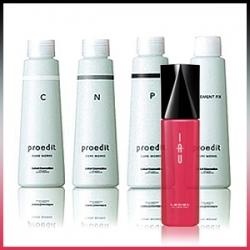 """Lebel Proedit Element Charge - Набор сывороток """"SPA-Счастье для волос"""" 4шт + эссенция Lebel IAU Sleek/Moist/Forti (на выбор) 100ml"""