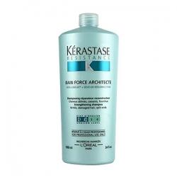 Kerastase Resistance Bain Force Architecte - Шампунь-ванна укрепляющий для поврежденных волос 1000 мл