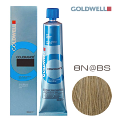 Goldwell Colorance 8N@BS - Тонирующая крем-краска Cветлый блонд с бежево-серебристым сиянием 60 мл
