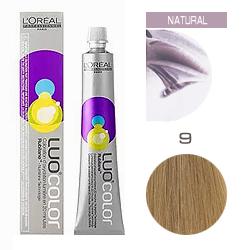 L'Oreal Professionnel Luo Color - Краска для волос Луоколор нутри-гель 9 Светлый блонд 50 мл