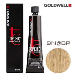 Goldwell Topchic 9N@BP - Стойкая краска для волос Очень светлый блонд с бежево-перламутровым сиянием 60 мл