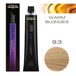 L'Oreal Professionnel Dialight - Краска для волос Диалайт 9.3 Очень светлый блондин золотистый 50 мл