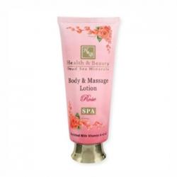 Health & Beauty - Крем для тела и массажа с эффектом замедления процессов старения - Роза , 250 мл