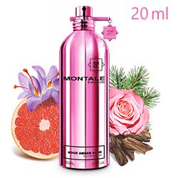 Montale Aoud Amber Rose «Удово-амбровая роза» - Парфюмерная вода 20ml