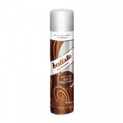 Batiste Dark & Deep Brown - Сухой шампунь для брюнеток 200 мл