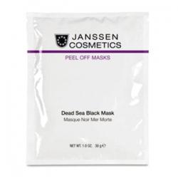Janssen Cosmetics Peeling Off Masks Dead Sea Black Mask - Альгинатная Маска на Основе Грязи Мертвого моря 10 х 30гр